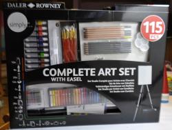 D&R complete art set, 115ks